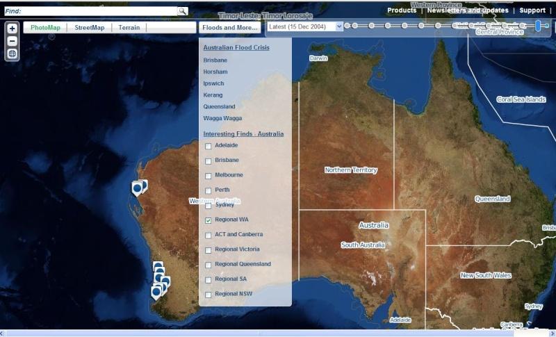 Google Earth et les AUTRES sites d'imagerie satellitaire. Carn0410