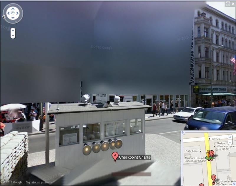 STREET VIEW: Ici Checkpoint Charlie, on a un problème! Charli10