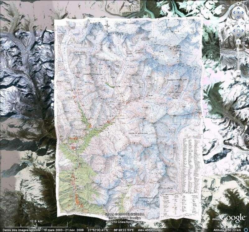 Carte topographique du Mont Everest [Surcouche / Overlay pour Google Earth] Everes12