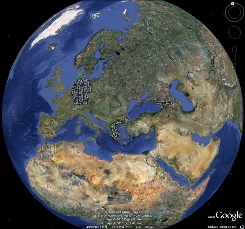 Les chemins de fer en Europe : toutes les gares [fichier KML pour Google Earth] Ge0112