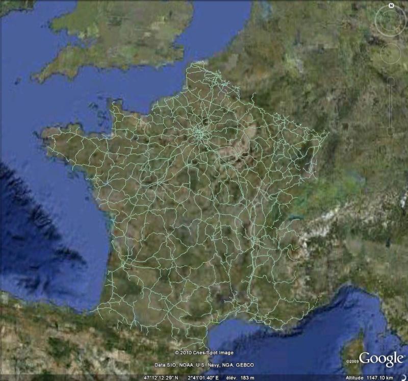 Les chemins de fer en Europe : toutes les gares [fichier KML pour Google Earth] Ge0113