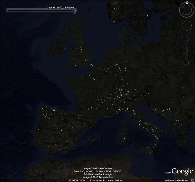 Les chemins de fer en Europe : toutes les gares [fichier KML pour Google Earth] Ge0114