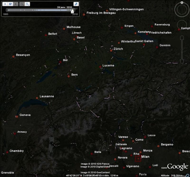 Les chemins de fer en Europe : toutes les gares [fichier KML pour Google Earth] Ge0115
