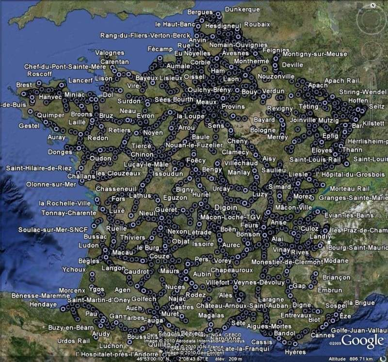 Les chemins de fer en Europe : toutes les gares [fichier KML pour Google Earth] Ge110