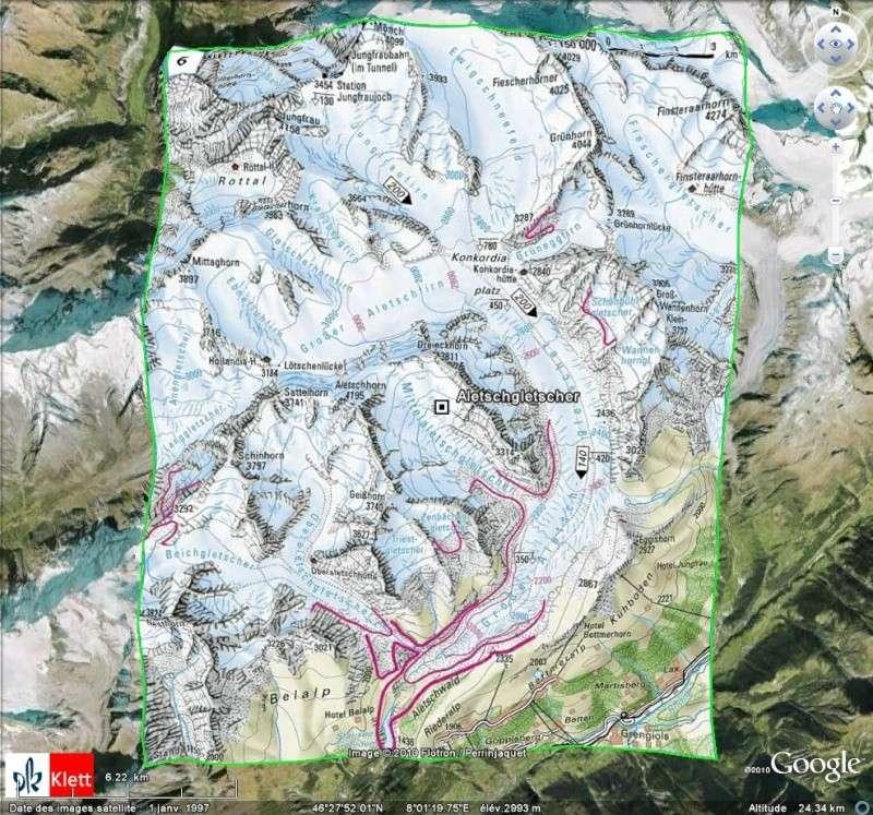 "Atlas mondial ""Haack Weltatlas Online"" [Surcouche / Overlay pour Google Earth] Ge112"