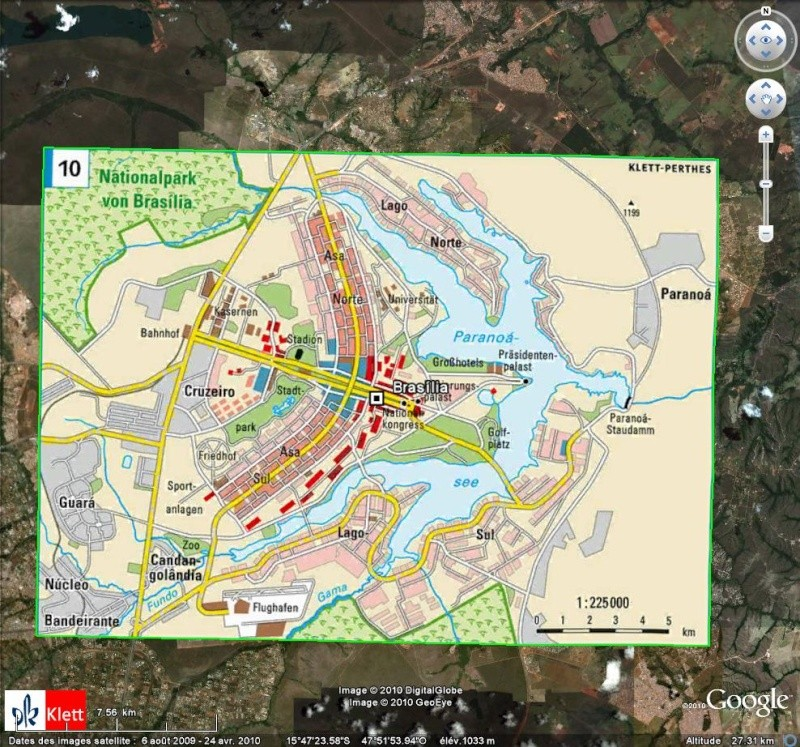 "Atlas mondial ""Haack Weltatlas Online"" [Surcouche / Overlay pour Google Earth] Ge212"