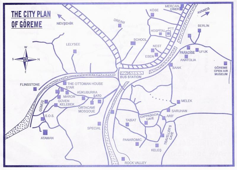 Cartes de randonnées - Cartes et plans touristiques. - Page 2 Goreme10