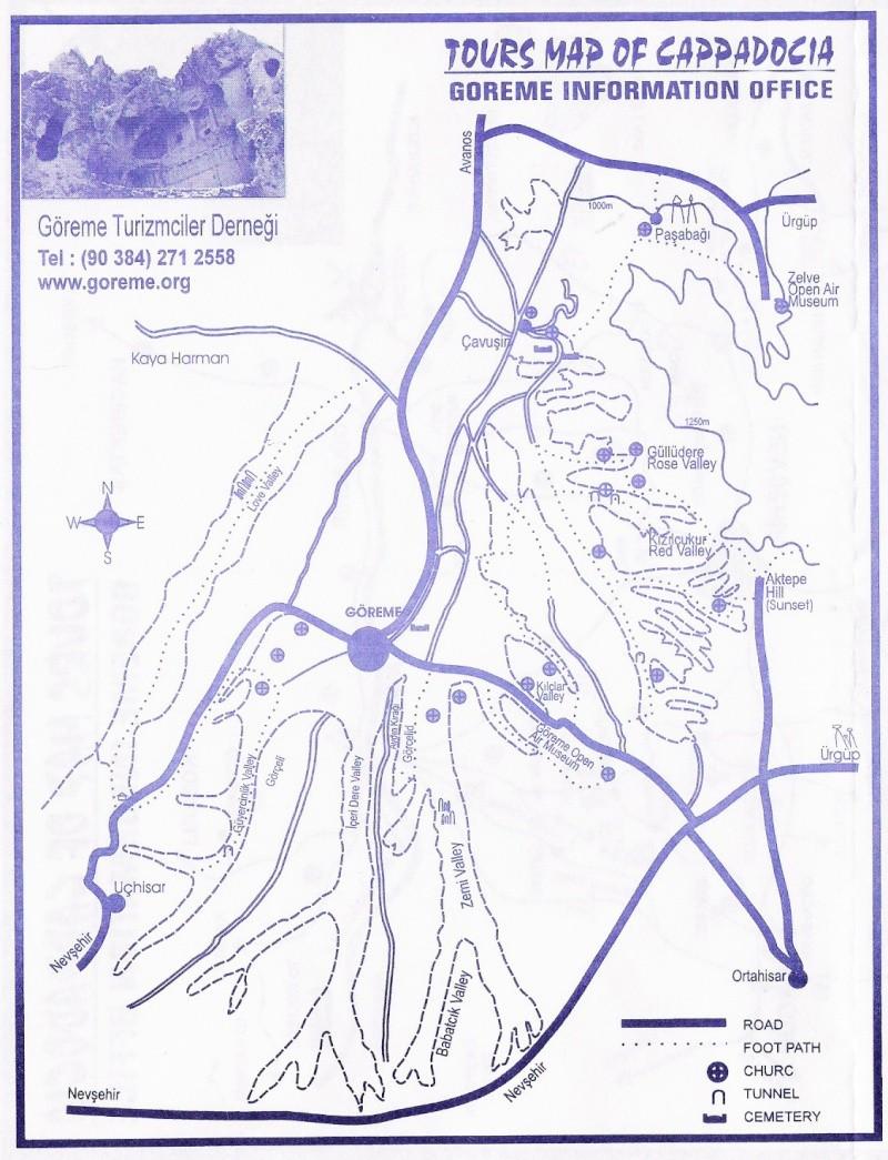 Cartes de randonnées - Cartes et plans touristiques. - Page 2 Goreme11