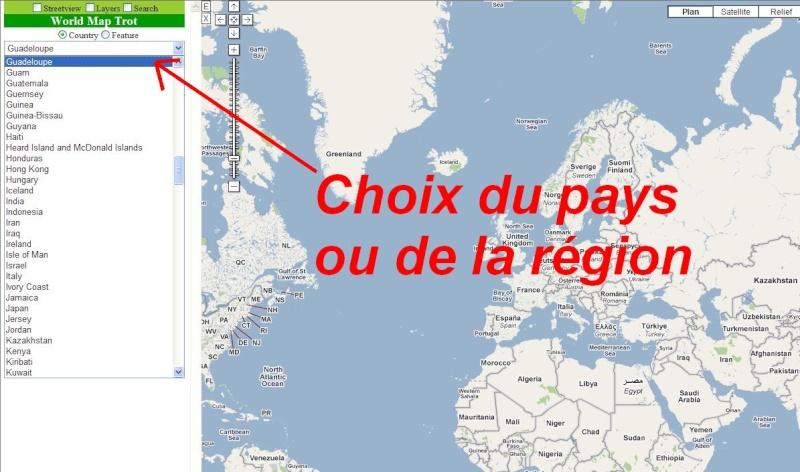 WORLD MAP TROT : Base de données géographiques Map0110