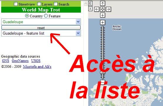 WORLD MAP TROT : Base de données géographiques Map0210
