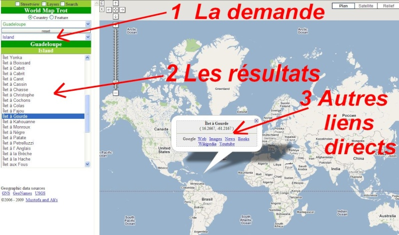 WORLD MAP TROT : Base de données géographiques Map0410