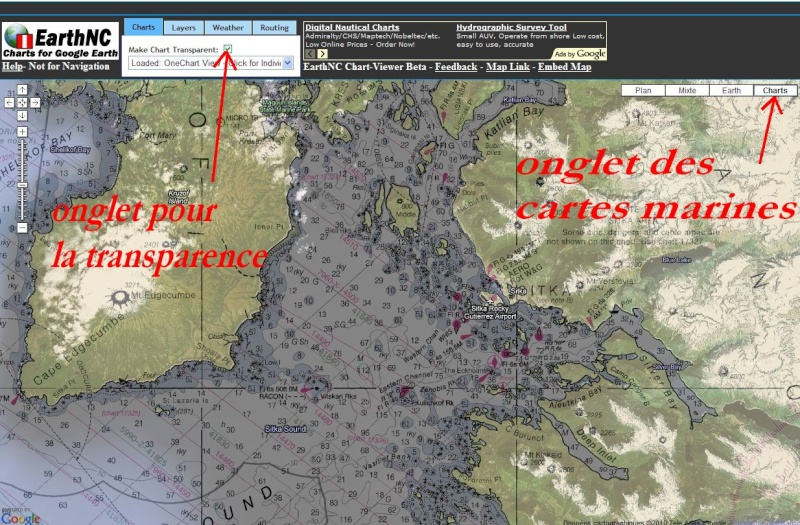 Cartes Marines - Nautical Maps - Cartas Nauticas Noaa211