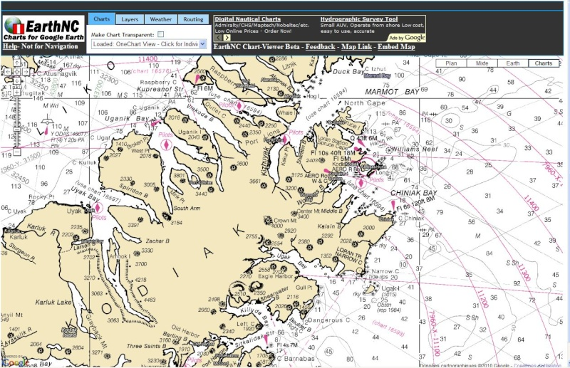 Cartes Marines - Nautical Maps - Cartas Nauticas Noaa312