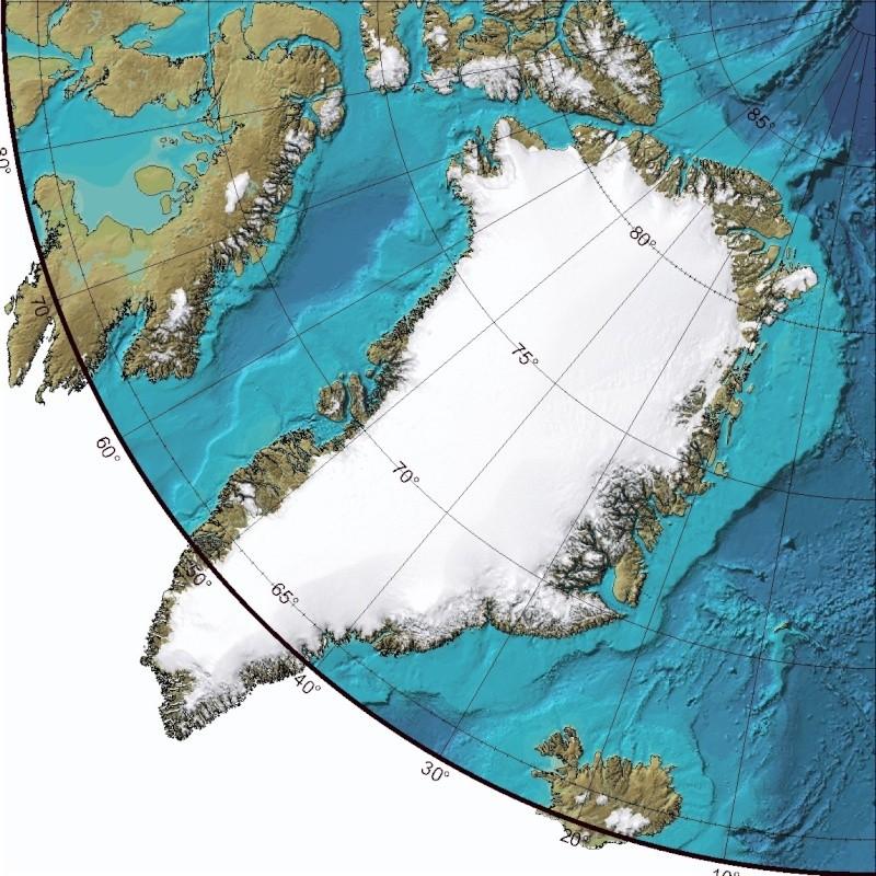 Essai - construction d'un overlay des zones polaires sur GE Np110