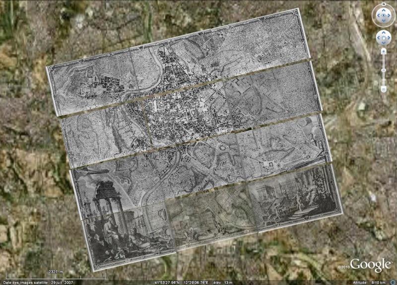 Rome - Plan de Nolli [Surcouche / Overlay pour Google Earth] Rome10
