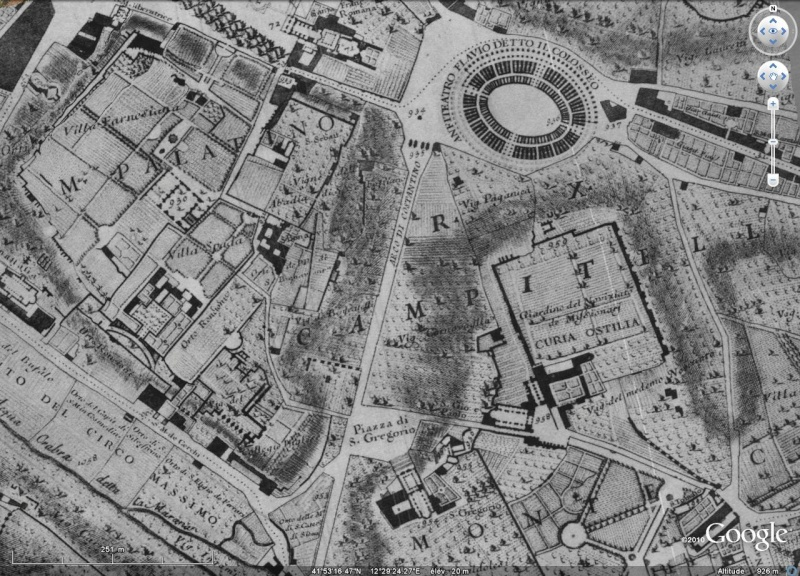 Rome - Plan de Nolli [Surcouche / Overlay pour Google Earth] Rome_210