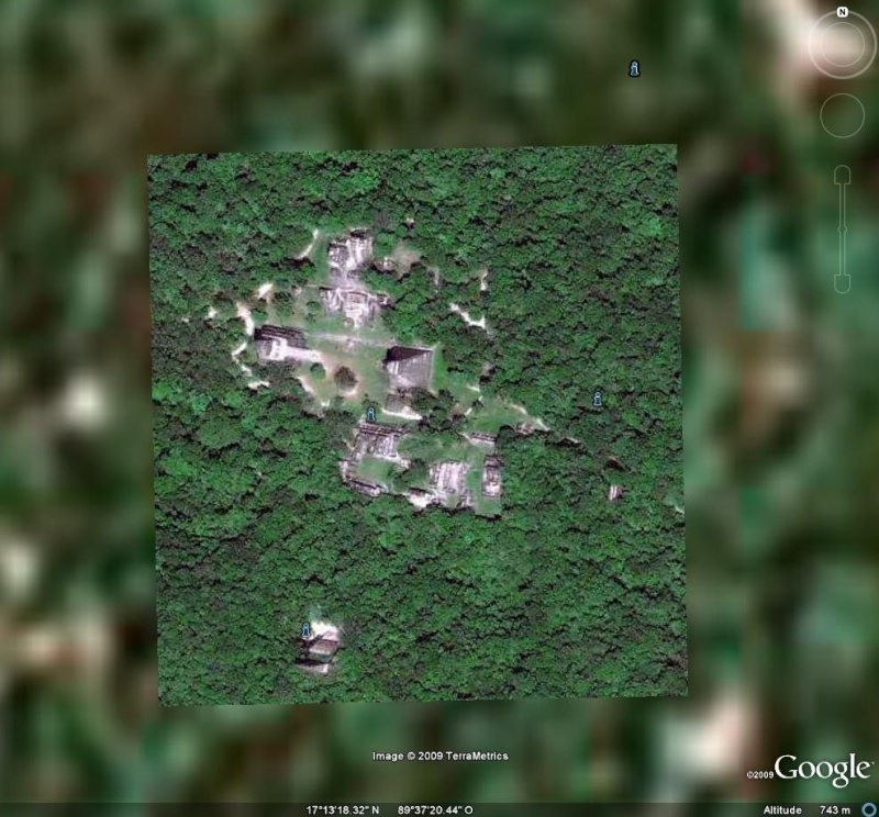 Mayas - Tikal Calakmul Palenque - Maya Yucatan Mexique Ti211