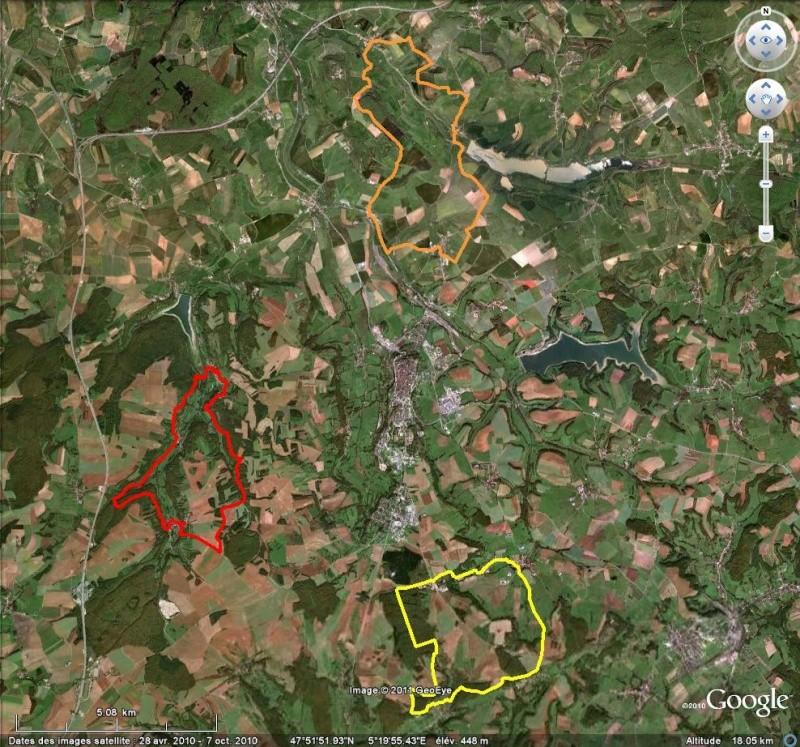 Comment diviser une trace kml importée d'un GPS ? [Problème Google Earth résolu] Tr10