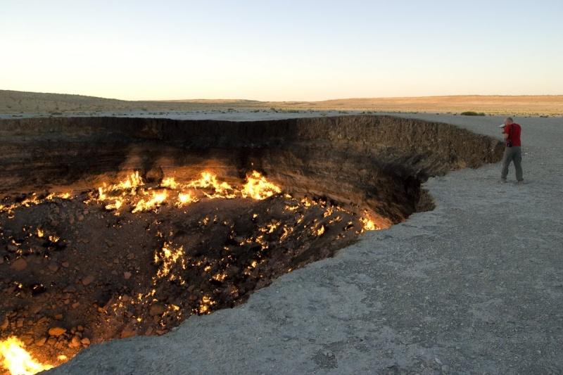 La porte de l'enfer - Darvaza - Turkménistan Turk_i10