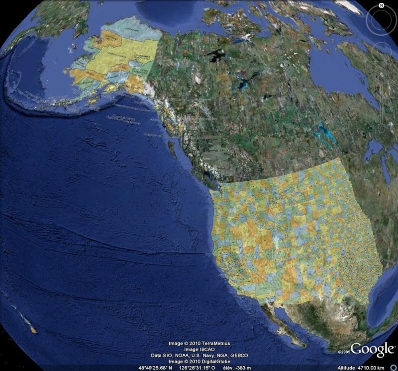 Comtés des U.S.A. - Etats de l'Ouest et Alaska [Surcouche / Overlay pour Google Earth] Us_cou10