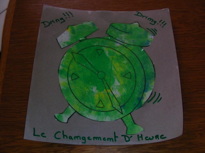 coloriage changement d'heure chez malala Hotlog10