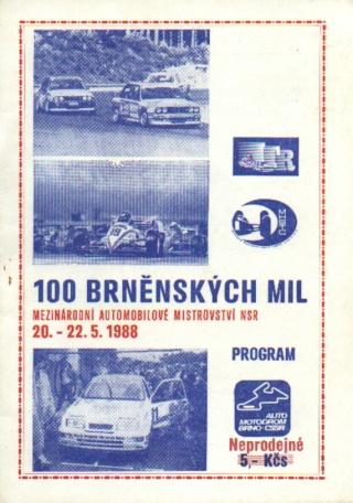 1988 DTM - Brno [August 5th] Brno8810