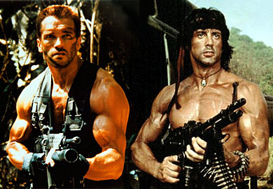 Stallone ou Schwarzenegger: lequel est le meilleur? Stallo10