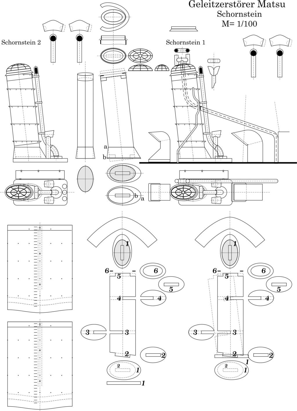 Japanischer Begleitzerstörer der Matsu Klasse, M 1/100 Bitmap11