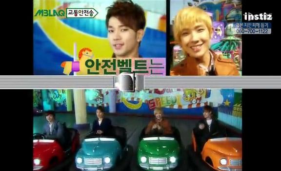 [27.03] MBLAQ une campagne pour la sécurité routière et la protection de l'environnement 20110311