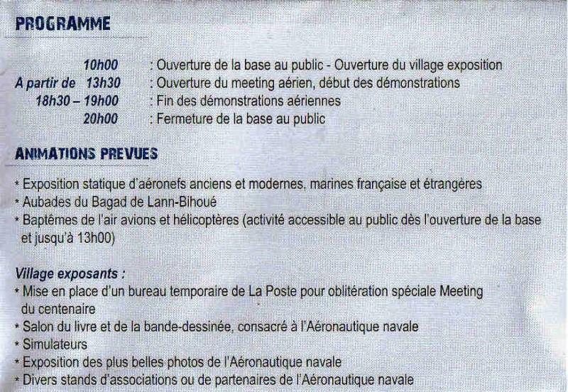 100 ème anniversaire de l'Aéronautique navale - Page 4 Meetin13