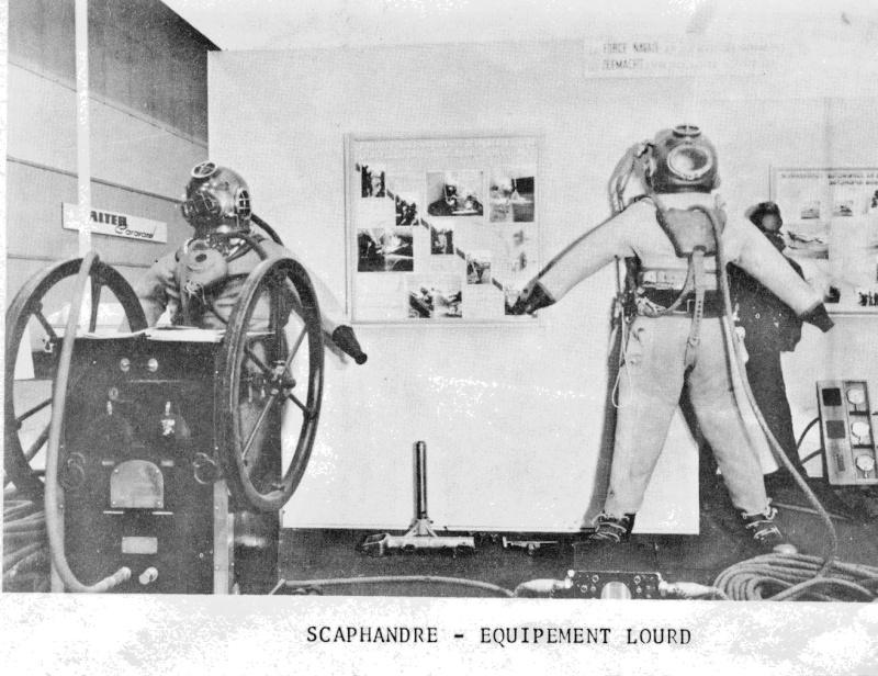 Plongeurs - matériel fin des années '50 Numari24