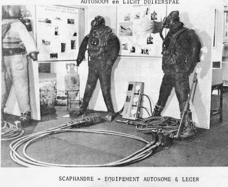 Plongeurs - matériel fin des années '50 Numari25