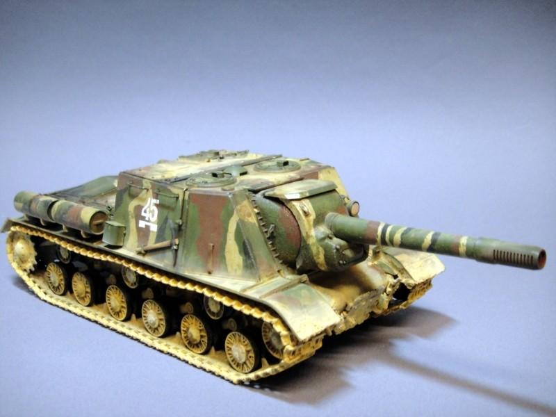 ISU-152 [Tamiya 1/35] Dsc02510