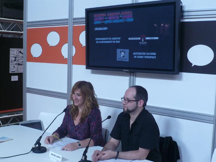 FOTORREPORTAJE - PokerFace en el 28º Salón de Cómic de Barcelona 00p10524