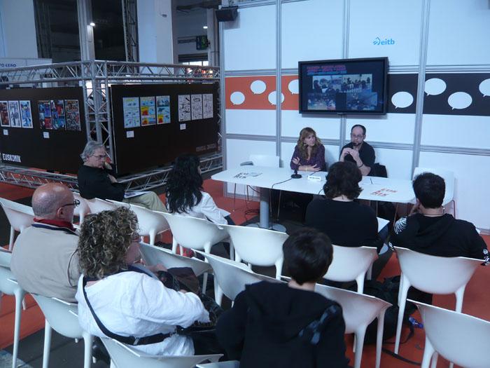 FOTORREPORTAJE - PokerFace en el 28º Salón de Cómic de Barcelona 00p10528