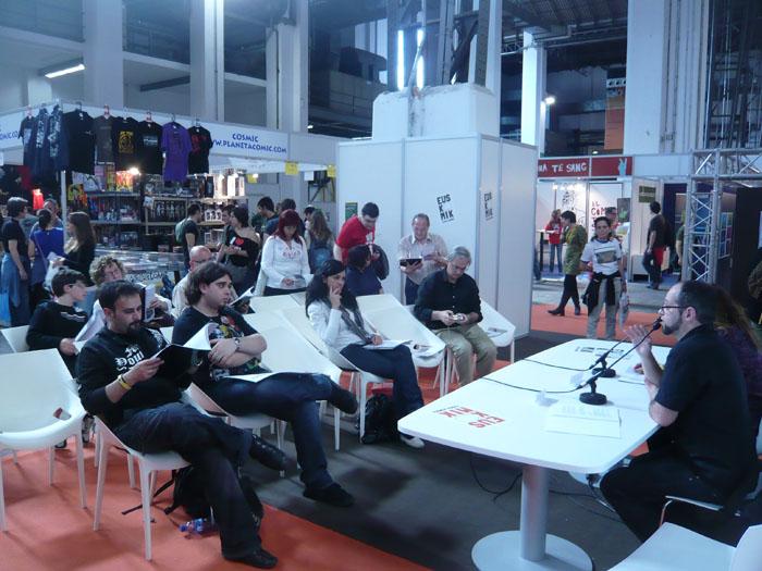 FOTORREPORTAJE - PokerFace en el 28º Salón de Cómic de Barcelona 00p10530