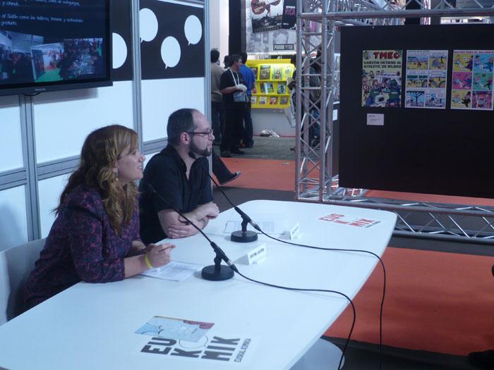 FOTORREPORTAJE - PokerFace en el 28º Salón de Cómic de Barcelona 00p10533