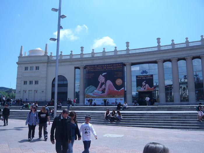 FOTORREPORTAJE - PokerFace en el 28º Salón de Cómic de Barcelona 0p105010