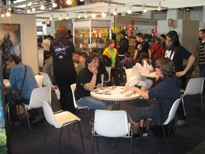 FOTORREPORTAJE - PokerFace en el 28º Salón de Cómic de Barcelona Img_0715