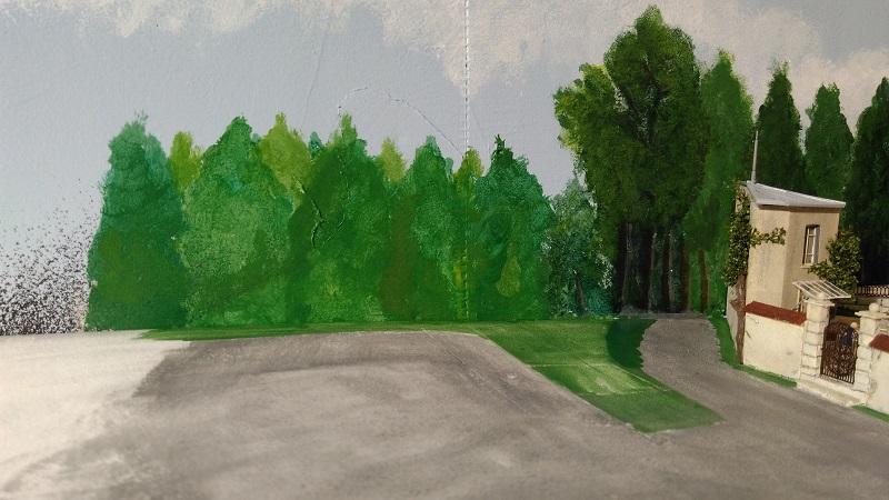 Peindre des arbres en fond de décor  Img_2095