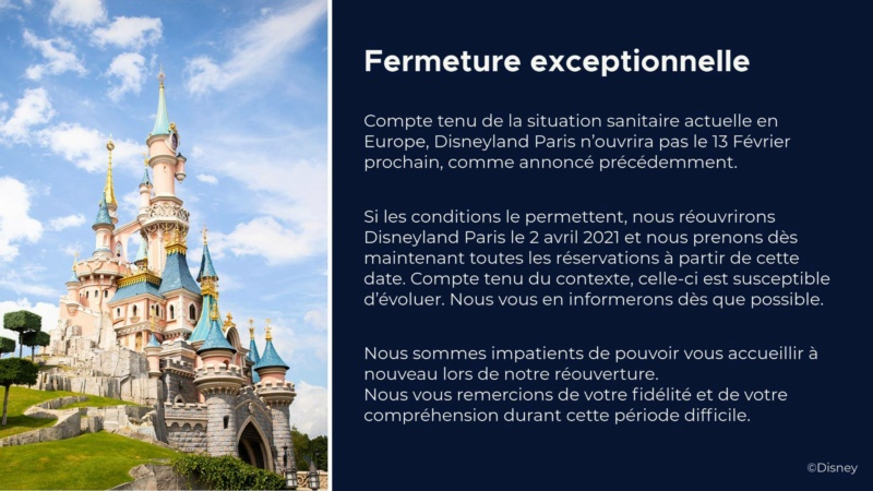 Disneyland Paris se reconfine jusqu'au 2 Avril 2021 13994611