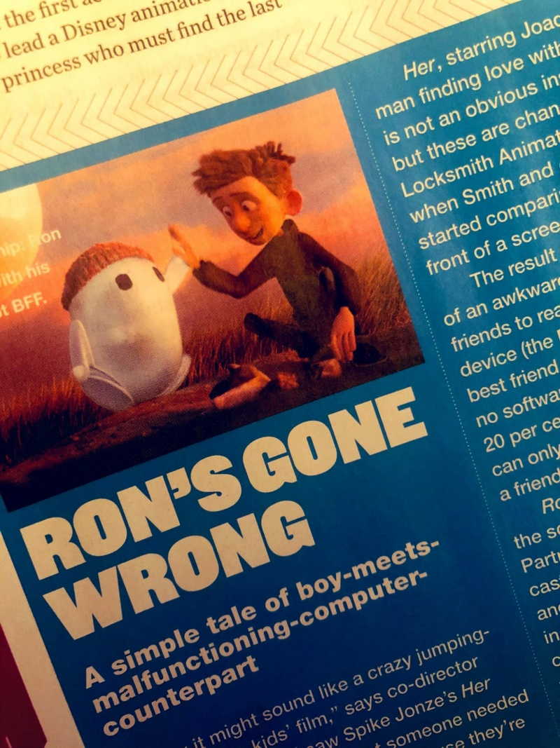 Ron's Gone Wrong [20th Century - 2021] 14184410