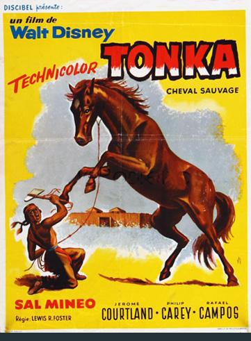 Tonka, Cheval Sauvage [Disney - 1958] En485610