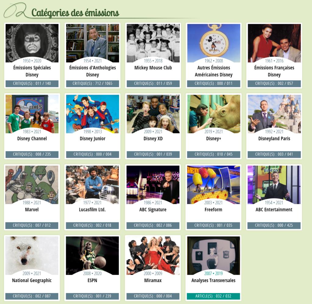 """Listes et chroniques des séries """"live"""" et émissions Disney  Sans_t25"""