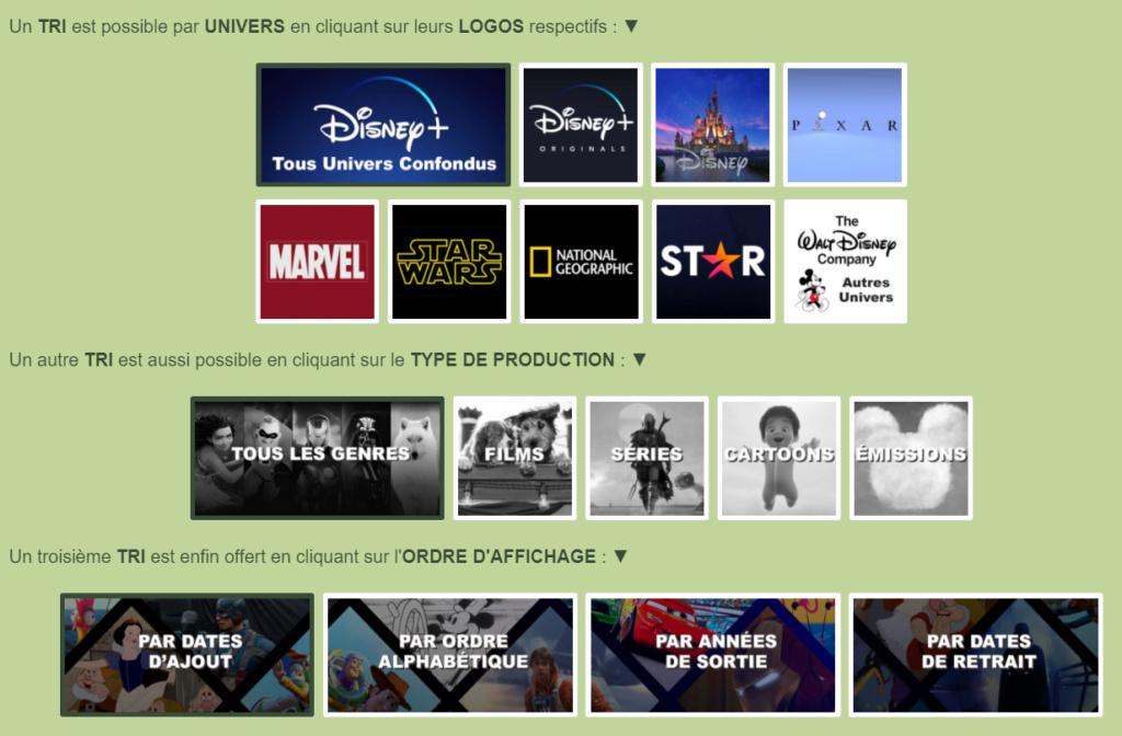 Parcourez le Catalogue de Disney+ et le Programme Télé Sans_t26