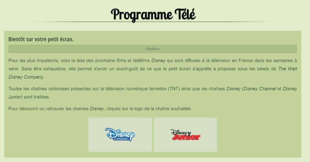 Parcourez le Catalogue de Disney+ et le Programme Télé Sans_t28