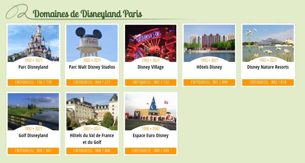 Listes et chroniques de toutes les activités de Disneyland Paris Sans_t29