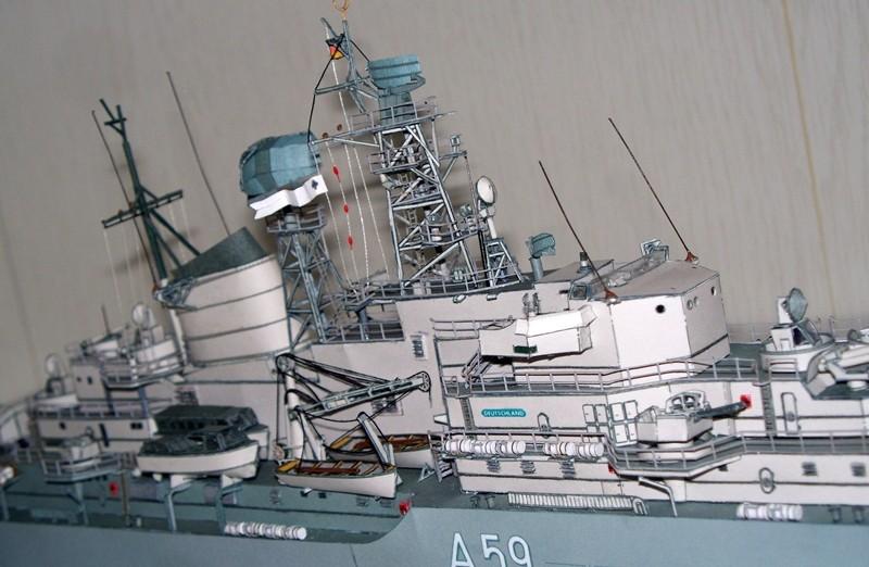 Schulschiff Deutschland 1:250 WHV/Möwe - Verlag FERTIG - Seite 10 21110