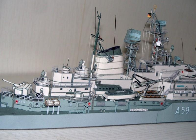 Schulschiff Deutschland 1:250 WHV/Möwe - Verlag FERTIG - Seite 10 21210