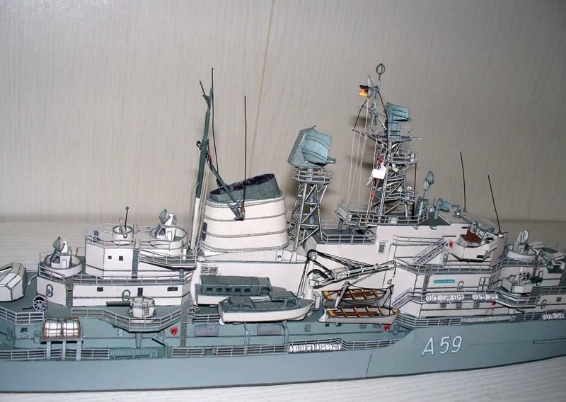 Schulschiff Deutschland 1:250 WHV/Möwe - Verlag FERTIG - Seite 10 21510